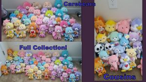Carebears full Collection! by Vesperwolfy87