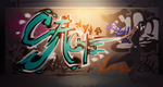 Graffiti The World by TacosaurusRex