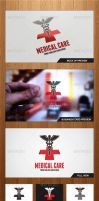 Medical Care Logo Template - Graphicriver by Changyik