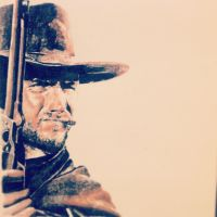 Clint Eastwood in 'A Fistful Of Dollars' by PatrickRyant