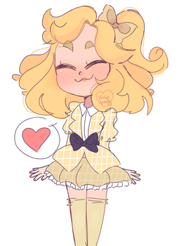 a smOL HEATHER MCNAMARA (MY CHILD) by Kirbybunnyy