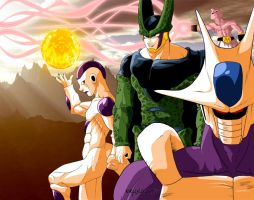 DBZ IN THE HOUSE by Dalarminus