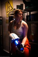 Chell from Portal by ChrixDesign