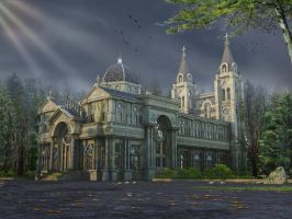 Ancient Church back view by crystalrain2702