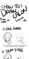 How to Draw Calon (or Inseo) - for GtRO ppls by dodomir23