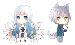 Baby Chibi's by Annabel-m