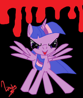 Creepy allicorn twilight is creepy 0_o by PinkamenaRocksCute13