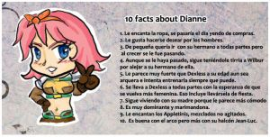 10 facts about Dianne by wilbur-kyriu