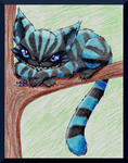The Cheshire Cat by LuckyLucario