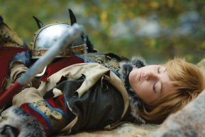 Even Vikings Need Sleep by ocwajbaum
