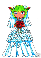 Cosmo - Wedding dress by aprict