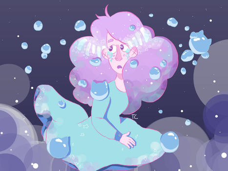 Bee and Puppycat Screenshot Redraw by trash-chiId