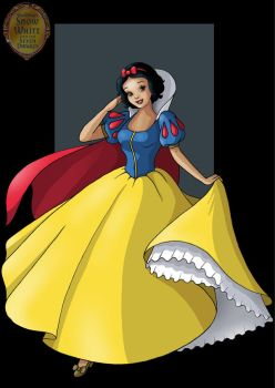 snow white by nightwing1975