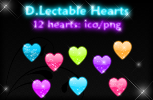 D.Lectable Candee Hearts by kittenbella
