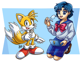 Tinkerer and Computer Whiz by SailorMoonAndSonicX