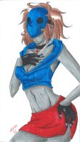 Eyeless Jack - Gender-bent by MionOfDeath