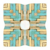 Gold And Turquoise2 by iside2012