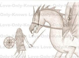 Eowyn vs Nazgul by Love-Only-Knows