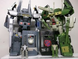 Transformers Headmasters by forever-at-peace