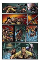 Color portfolio: Thunderbolts N. 159, pag8 by shiprock