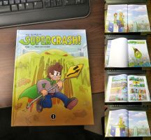It finally arrived (French Supercrash book) by TheBourgyman
