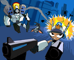 Mighty Switch Force by alexmorgaen