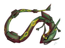 PC Rayquaza by jaclynonacloud