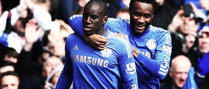 Demba Ba and Mikel Sig by DONICFC