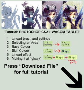 Tutorial - Photoshop CS2 by bluefeathers