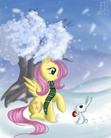 One winter day by FluffyDus