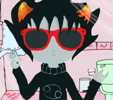 DUCK FACE - Karkat Verison by Fionna-lahumana