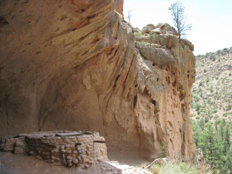 Bandelier Elevated Kiva by RobMitchem