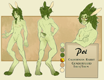 Persona Reference Sheet by Poifish