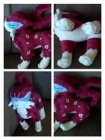 shiny liepard plush by LRK-Creations