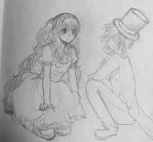 Alice SeeU and Oliver by lellibel