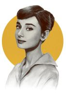 Audrey Hepburn by Anti-Pati-ya