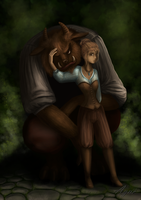 Beauty and the Beast by AgneAl
