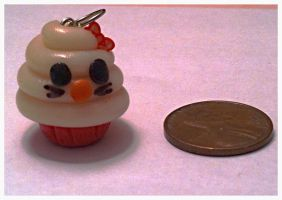 Hello Kitty Cupcake Charm ~$2 by Jenna7777777