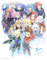 Symphonia Chronicles Speedpaint by lonerurouni187