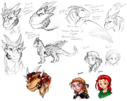 Dragonheart Character Sheet by agra19