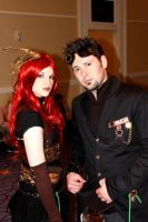 Steampunk Couple by PrototypeVX2