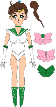 Sailor Jupiter (FULL) by WILLIAM-1998