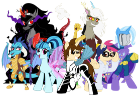 Spiders and Magic - Equestrian Avengers by edCOM02