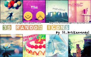Icons - Random-Stock Set 6 by lilbrokenangel