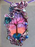 Twilight Forest Pendant no. 14 by ThrottledRose