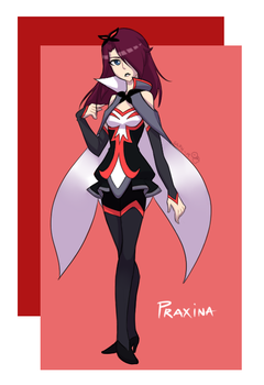 {Request} Praxina by Sapphire-M