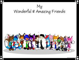 Gift Art: To all my Friends by MeckelFoxStudio