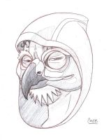 Andre the Hawk by Carlzors