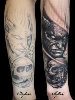 Horror cover-up by tikos