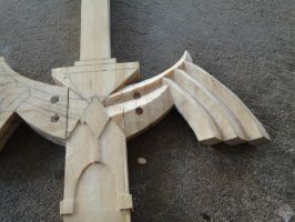 Master Sword Skyward Sword WIP Shot by DonnixProps